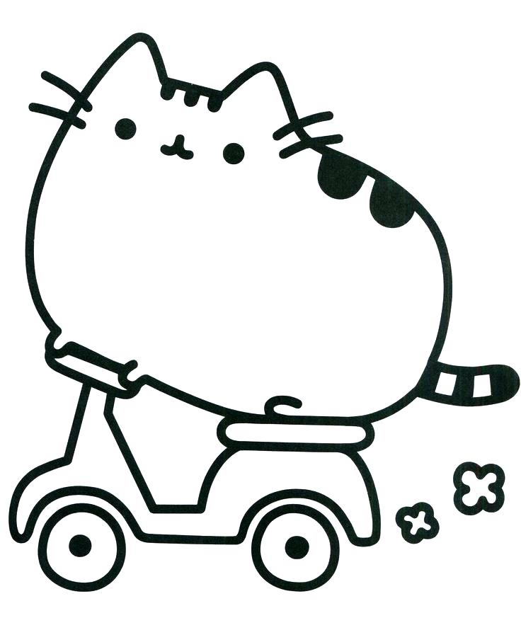 736x873 Coloring Page Of A Cat Cat Coloring Pages Cat Simple Decoration