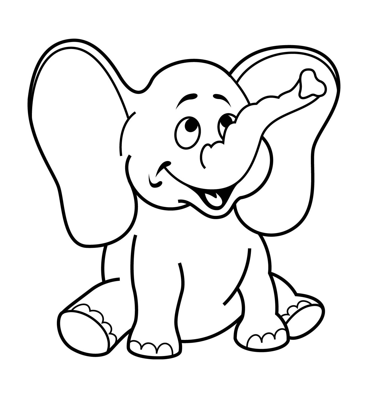 1417x1535 Superior Simple Coloring Pages For Year Olds