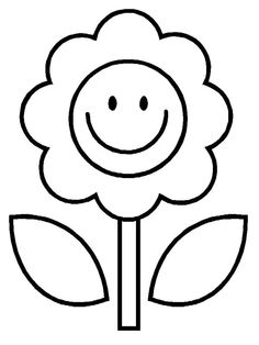 236x314 Printable Coloring Sheets For Year Olds Flower Coloring Pages