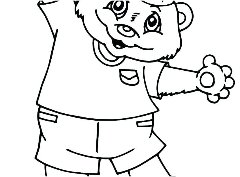 827x609 Simple Coloring Pages For Year Olds
