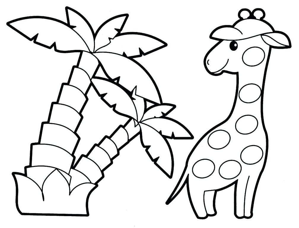 1008x768 Easy Coloring Pages For Toddlers