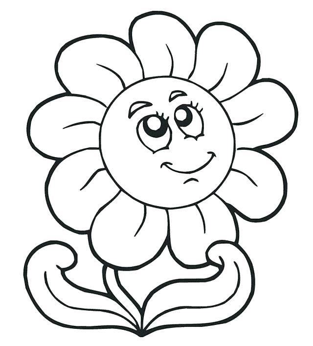 640x707 Simple Coloring Pages Toddlers Easy For Toddler Learning Years