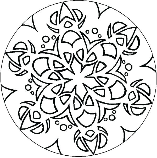 Simple Design Coloring Pages At Getdrawings Com Free For