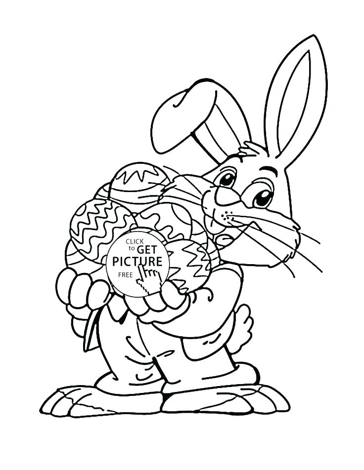 736x952 Coloring Pages For Kids Easter Bunny Coloring Page Bunny Coloring