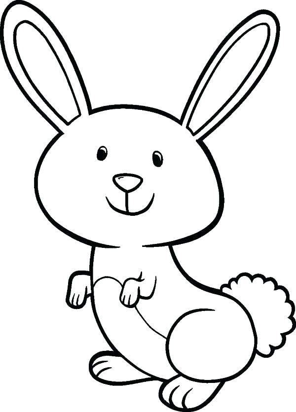 600x836 Printable Bunny Coloring Pages Coloring Pages Of Bunnies Free
