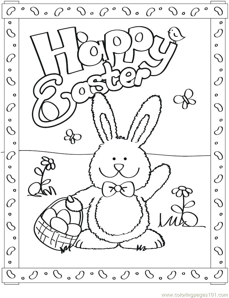 732x952 Bunny Coloring Page Simple Easter Bunny Coloring Book Pages Bunny