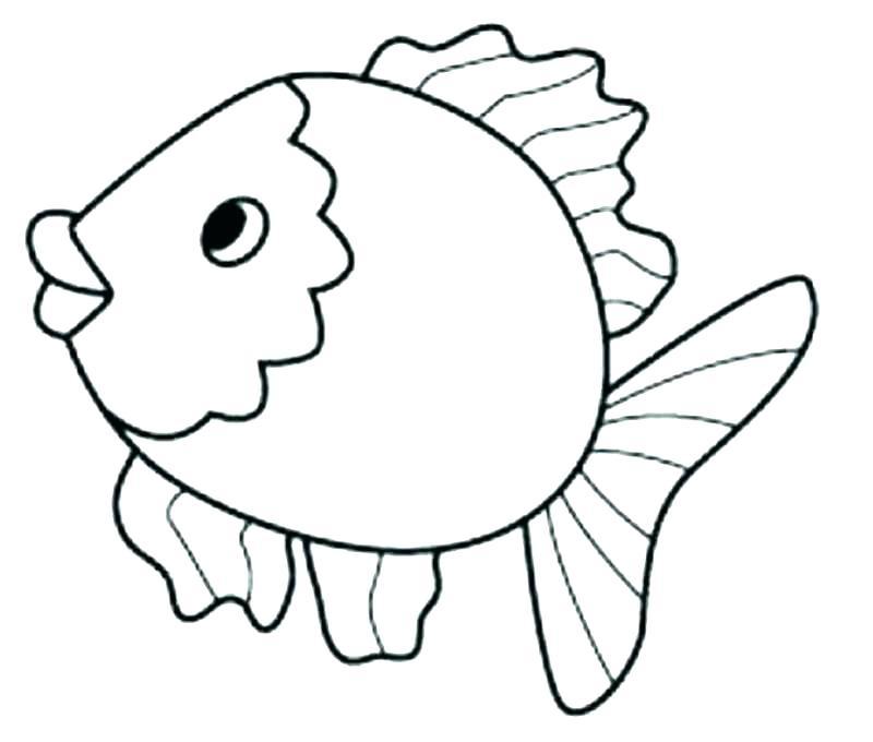 Simple Fish Drawing at GetDrawings | Free download
