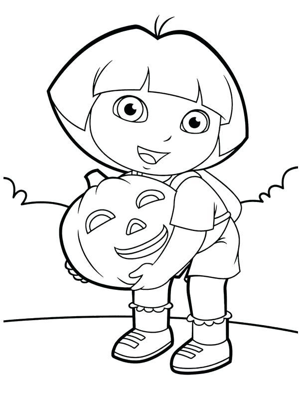 612x792 Pumpkin Halloween Coloring Pages Color The Happy Halloween Pumpkin