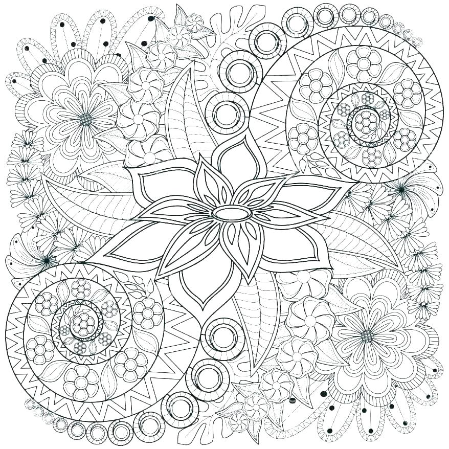 878x878 Heart Mandala Coloring Pages Valentine Free Heart Mandala Coloring