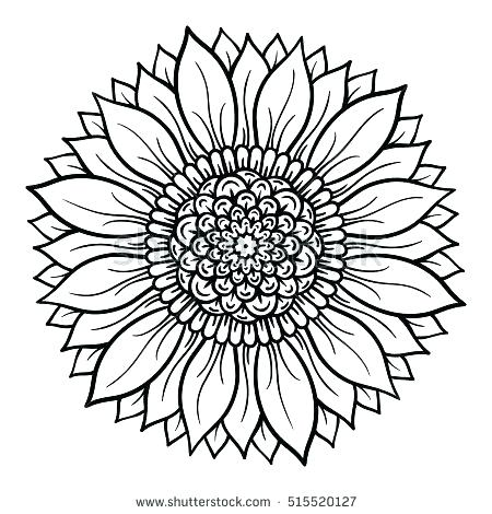 450x470 Mandela Coloring Pages Flower Mandala Coloring Pages Vector