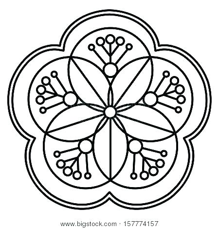 Simple Heart Mandala Coloring Pages At Getdrawings Com Free For