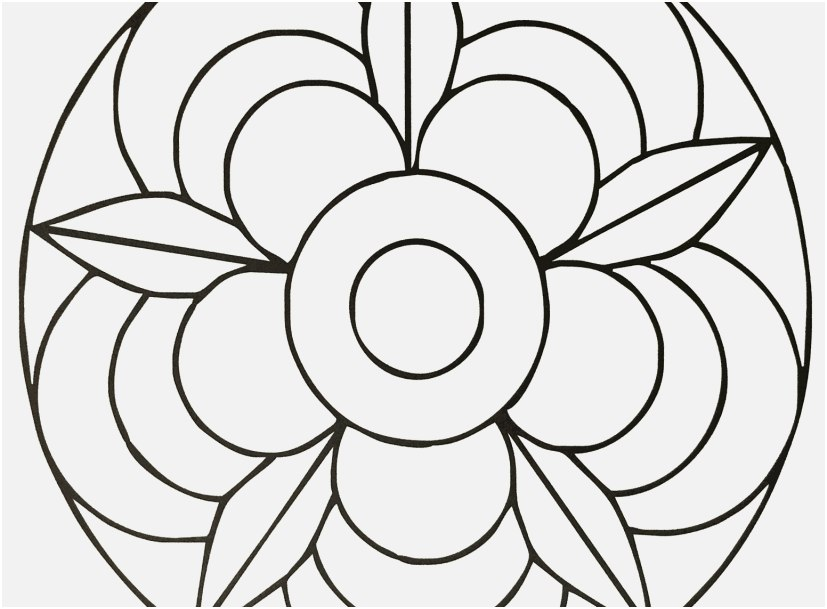 Simple Mandala Coloring Pages At Getdrawings Com Free For Personal