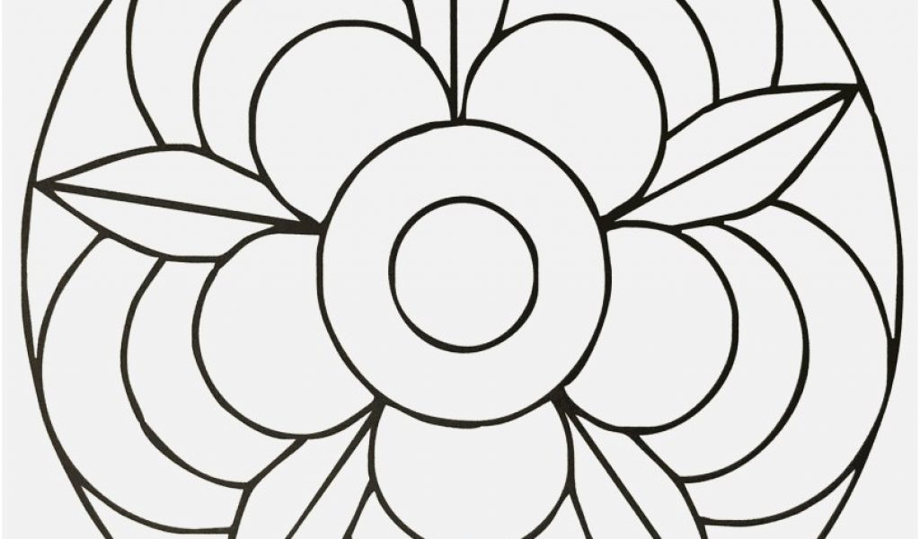 1024x600 Mandala Coloring Pages For Kids View Simple Mandala Coloring Pages