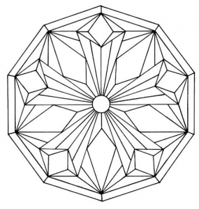 285x300 Mandalas Coloring Pages For Kids To Print Color