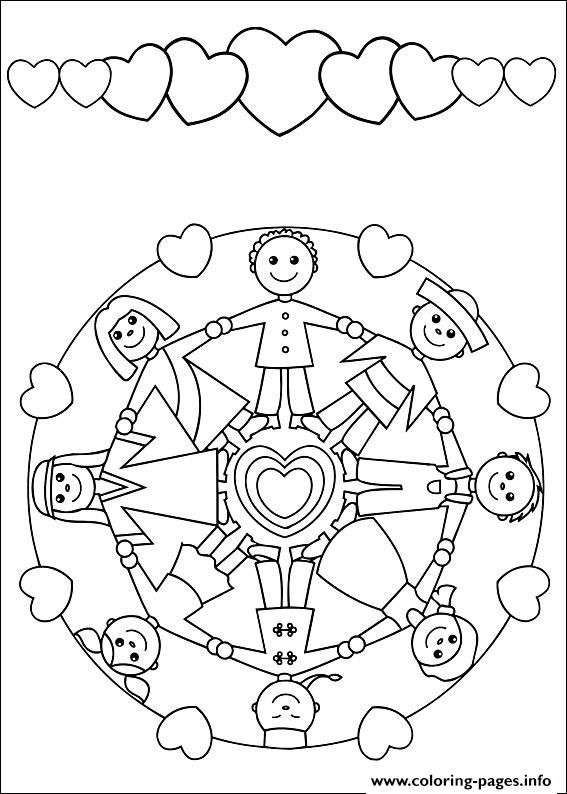 567x794 Print Easy Simple Mandala Coloring Pages Gs Be A Sister