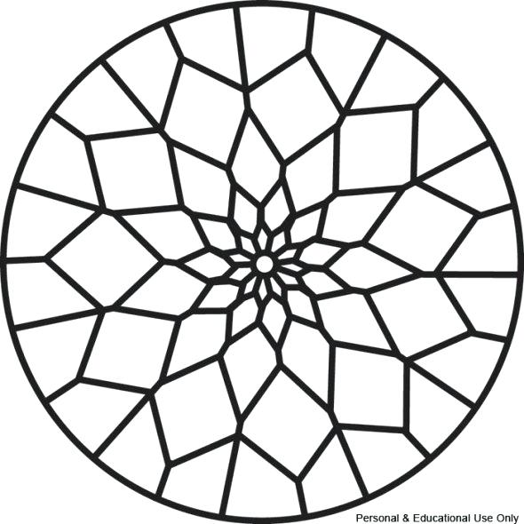 Simple Mandala Coloring Pages Printable At GetDrawings Free Download
