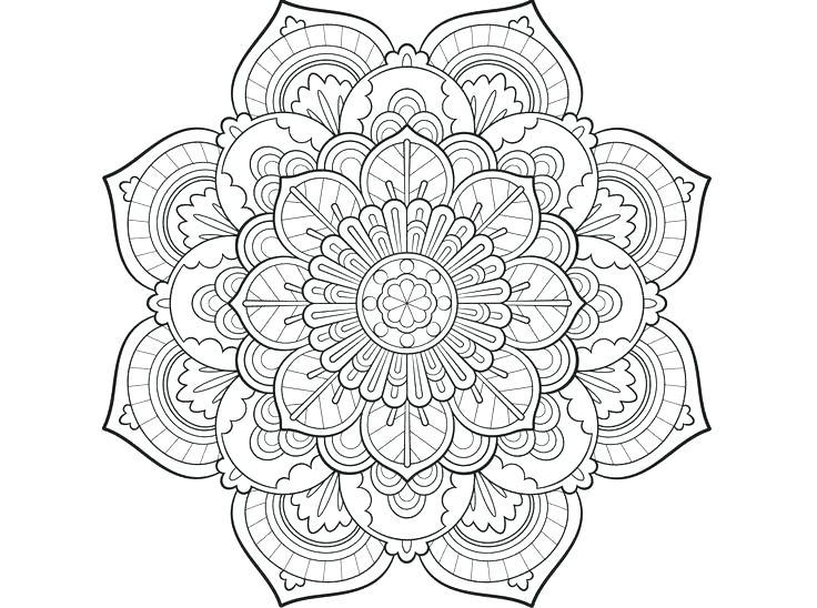 736x548 Mandala Coloring Page Mandala Coloring Pages Printable
