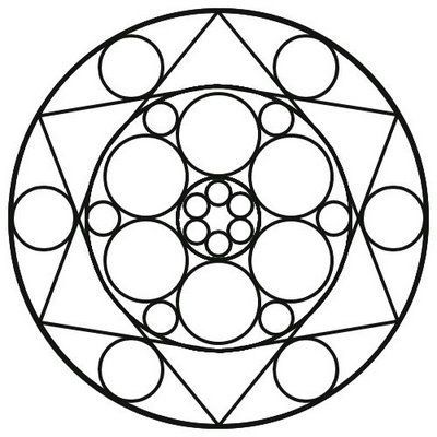 400x400 Mandala Coloring Pages Easy Coloring Page School