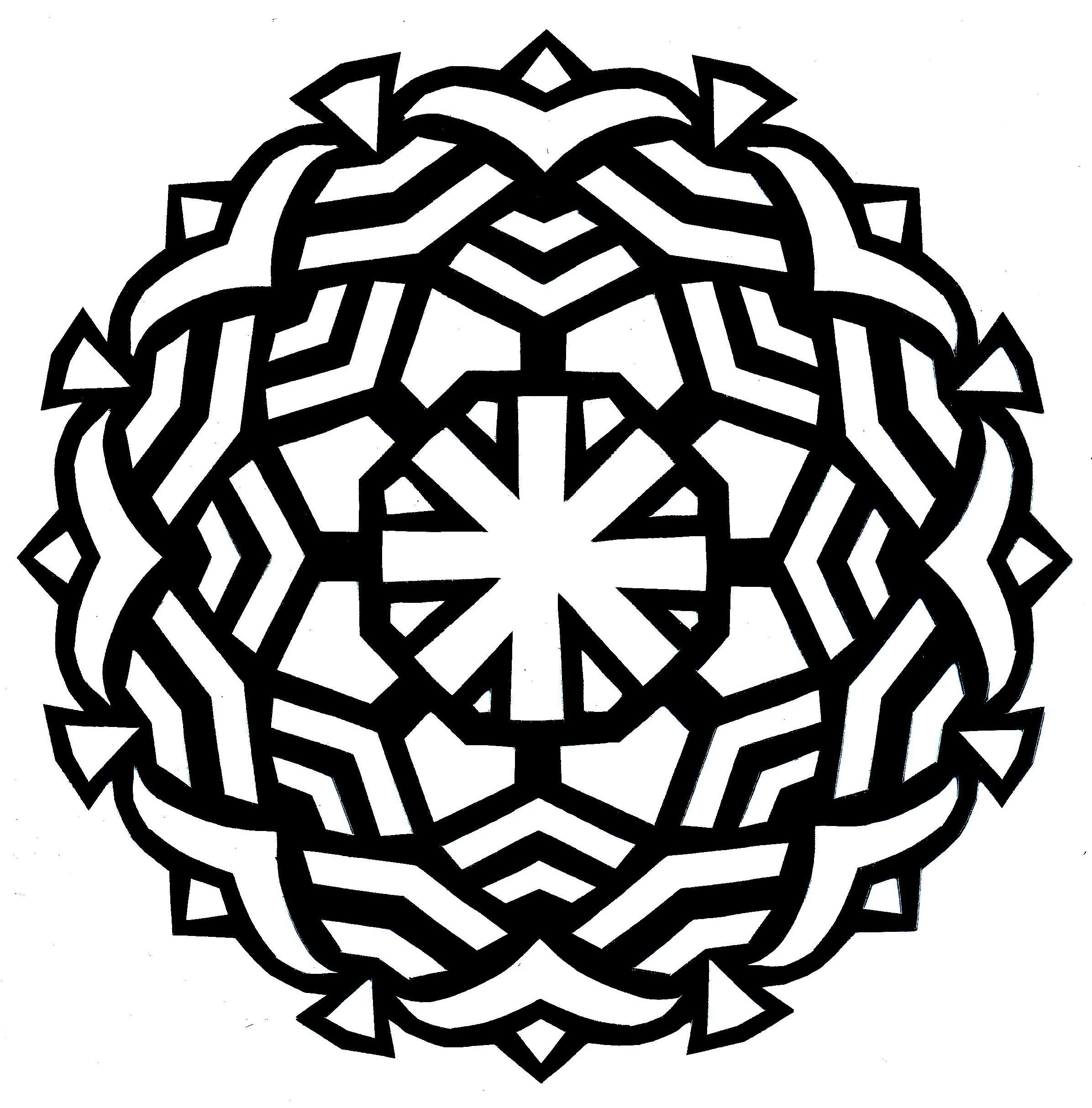 2392x2428 Round Mandala Coloring Pages New Best Simple Mandala Coloring