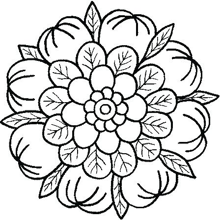 450x450 Easy Mandala Coloring Pages Abstract Coloring Pages Printable