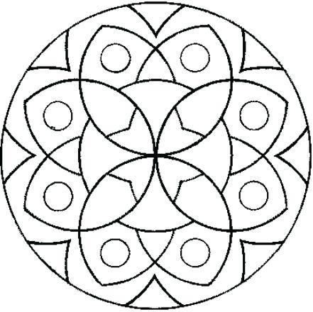 441x440 Simple Mandala Coloring Pages Simple Mandala Coloring Pages