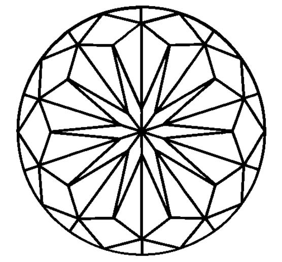 556x517 Simple Mandala Coloring Pages Printable Mandala Coloring Pages