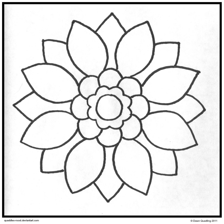 1500x1500 Sun Petal Mandala Downloadable