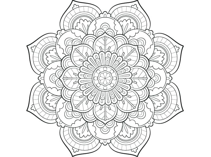 736x548 Mandala Color Pages Mandala Color Pages Coloring Pages Delightful