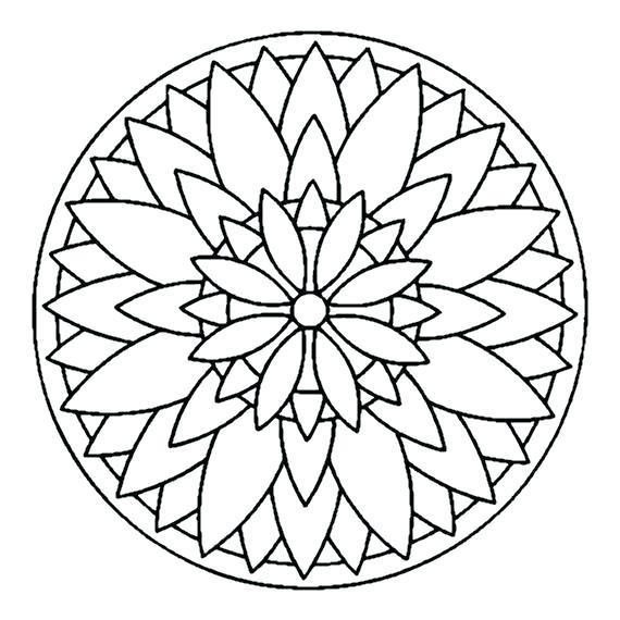 570x570 Simple Mandalas To Print And Color Mandala Ng Pages Photography