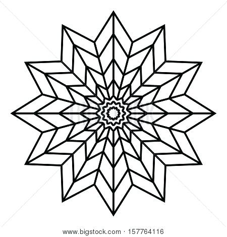 450x470 Awesome Simple Mandala Coloring Pages And Simple Mandala Flower