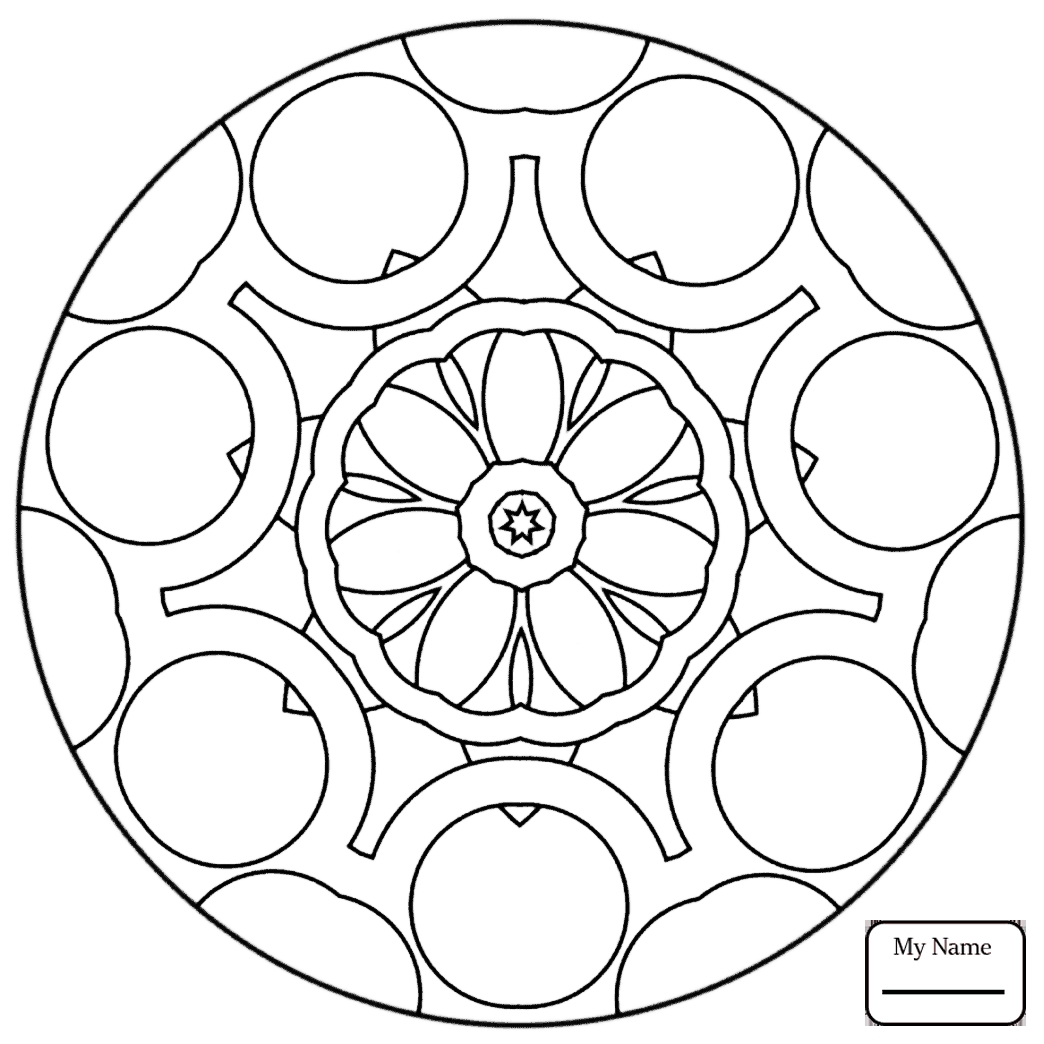 1044x1044 Best Of Flower Mandala Arts Culture Coloring Pages For Kids Free