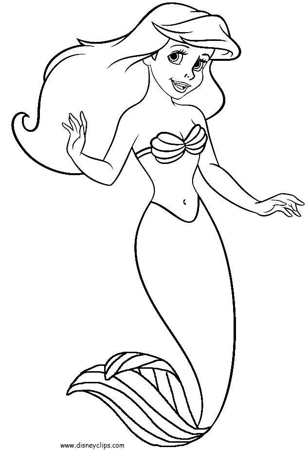 633x925 Princess Mermaid Coloring Pages Barbie Coloring Pages Printable