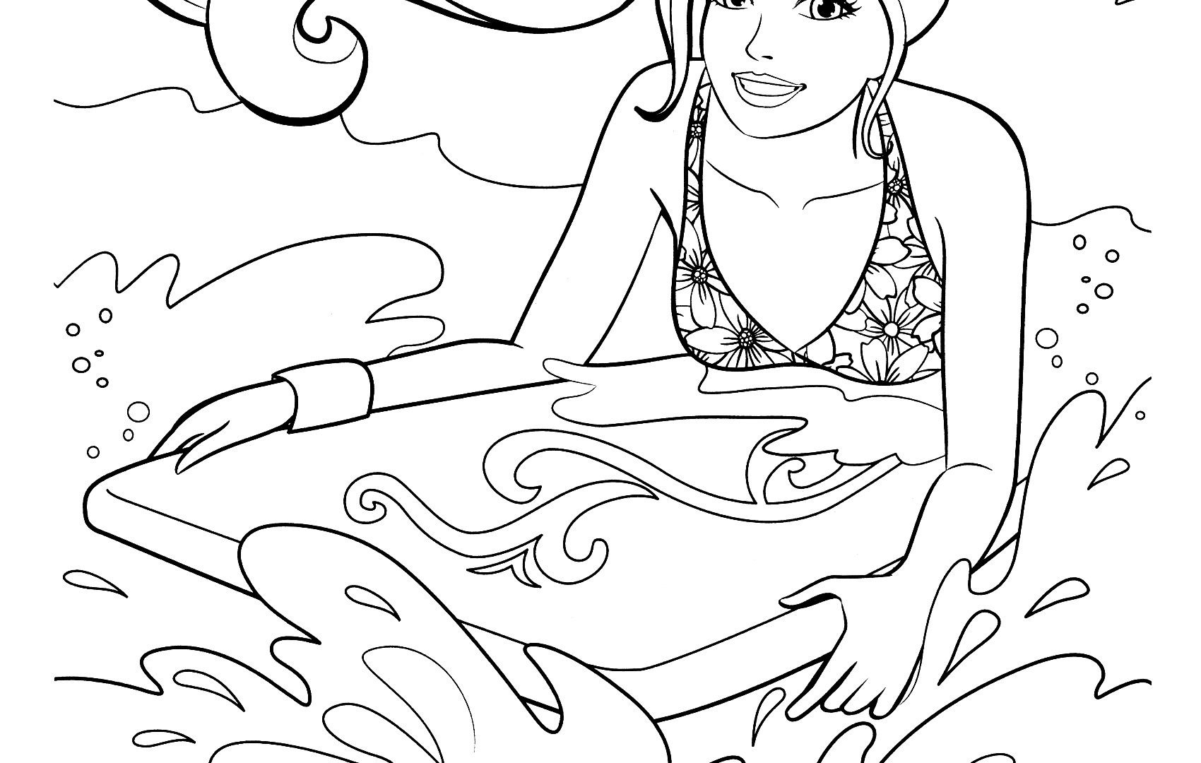 1700x1080 Trend Free Printable Barbie Coloring Pages Simple Games Princess