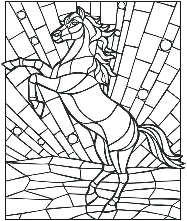 650x766 Printable Mosaic Color Spectacular Free Printable Mosaic Coloring