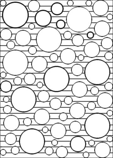 Simple Pattern Coloring Pages