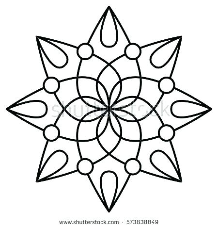 450x470 Free Printable Coloring Pages Of Flowers Flower Pattern Free