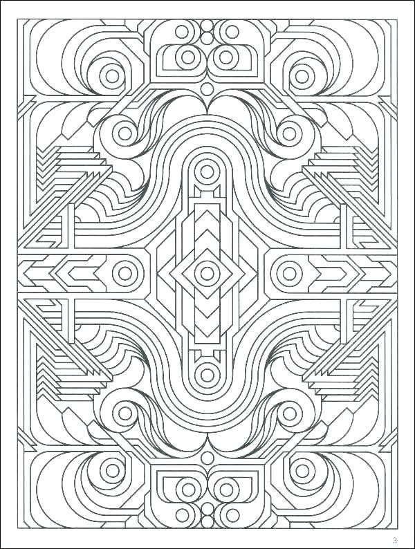 600x794 Geometric Pattern Coloring Pages Pattern Coloring Pages Patterns