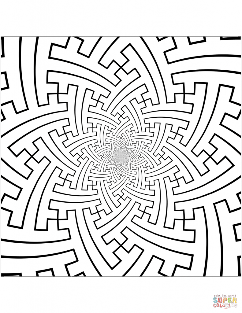 791x1024 Pattern Coloring Pages