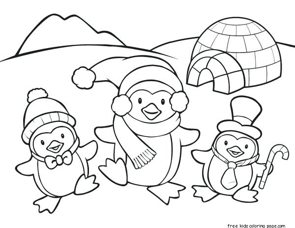 600x464 Penguin Coloring Free Penguin Coloring Pages Club Penguin Coloring