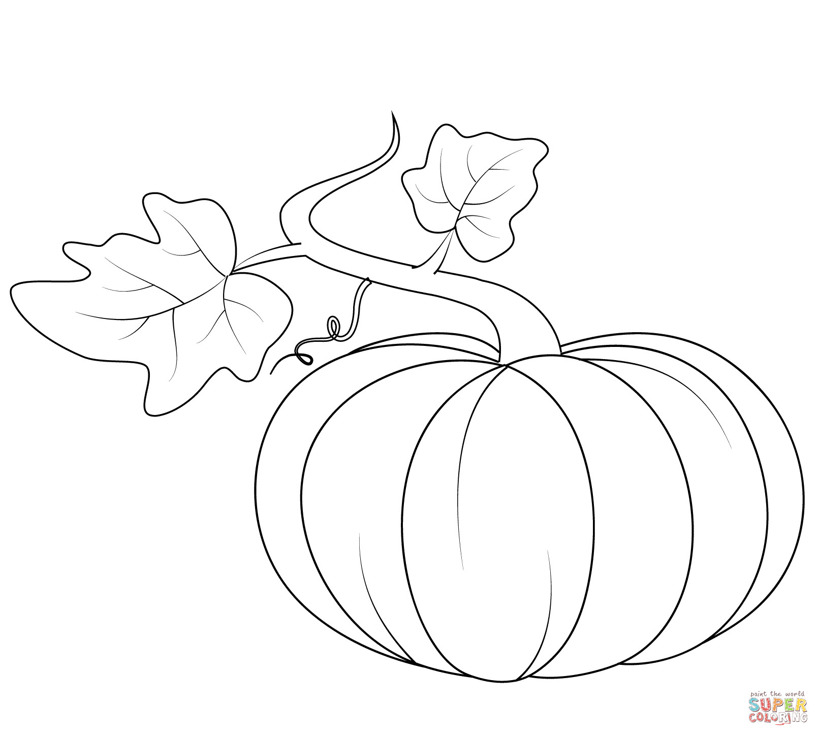 1612x1449 Expert Free Printable Pumpkin Pictures Pumpkins Coloring Pages Fun