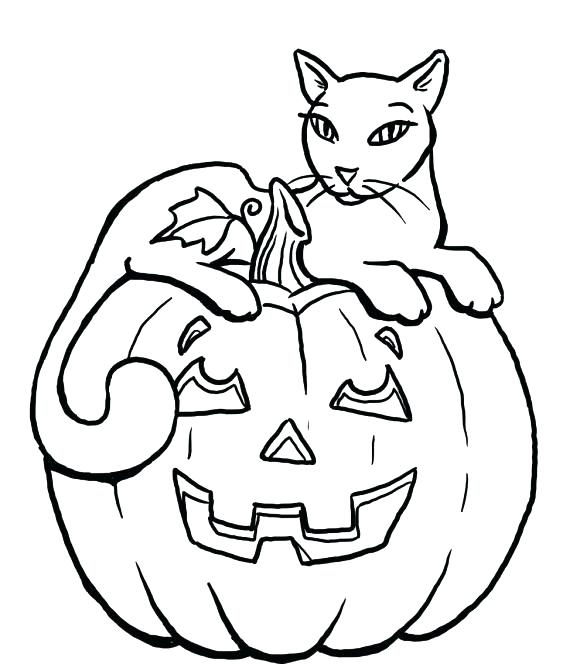 580x664 Halloween Coloring Pages Of Pumpkins Pumpkins To Coloring Pages