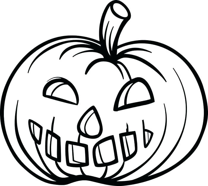 700x625 Pumpkin Coloring Page Printable Pumpkin Coloring Page For Kids