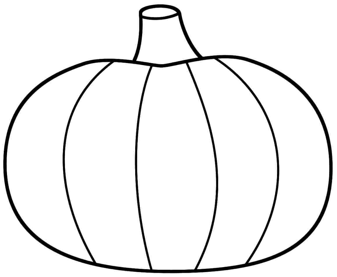 1157x954 This Is Best Pumpkin Outline Printable Coloring Pages
