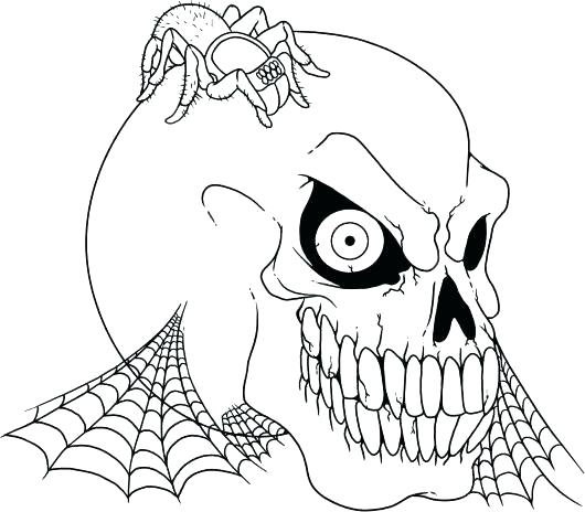 530x464 Coloring Halloween Pages Spider Coloring Pages Spider Pumpkin