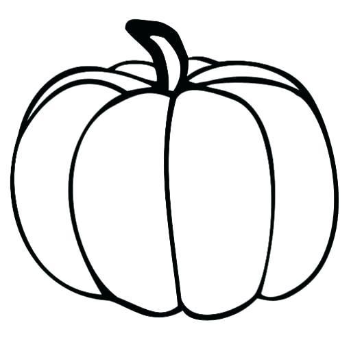 512x512 Coloring Pumpkin Templates Pumpkin Pumpkin Coloring Pages
