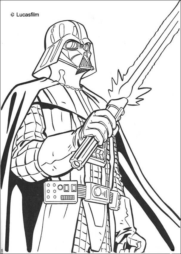 607x850 Star Wars Coloring Sheets Collection