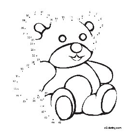 263x280 Teddy Bear B On Simple Teddy Bear Coloring Page Free Printable