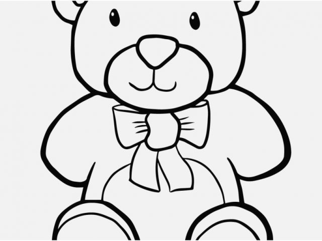 640x480 Teddy Bear Coloring Pages Stock Excellent Coloring Pages Teddy