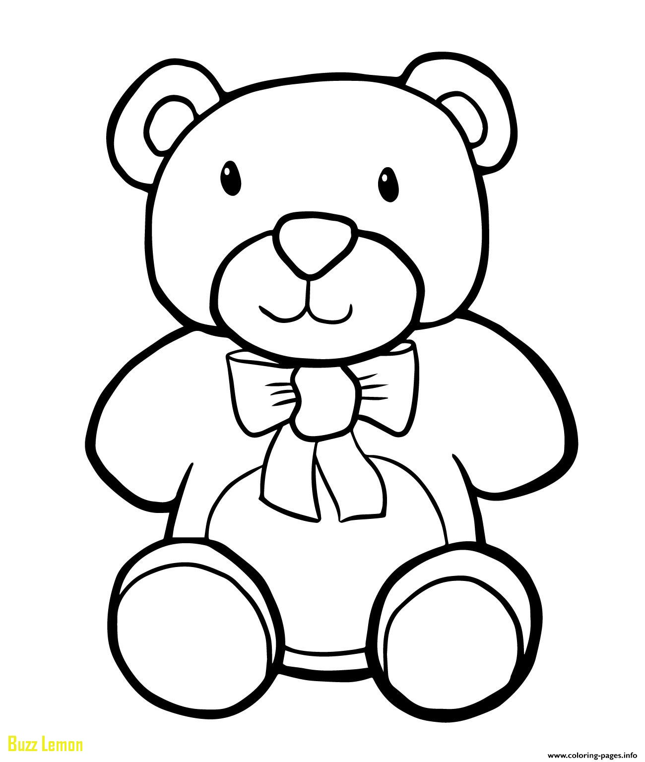 1300x1536 Coloring Page Teddy Bear Best Of Teddy Bear Simple Kids Coloring