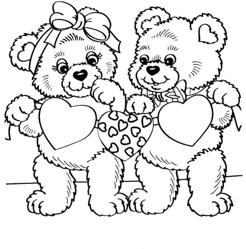 791x800 Elegant Free Printable Teddy Bear Coloring Pages And Simple Teddy